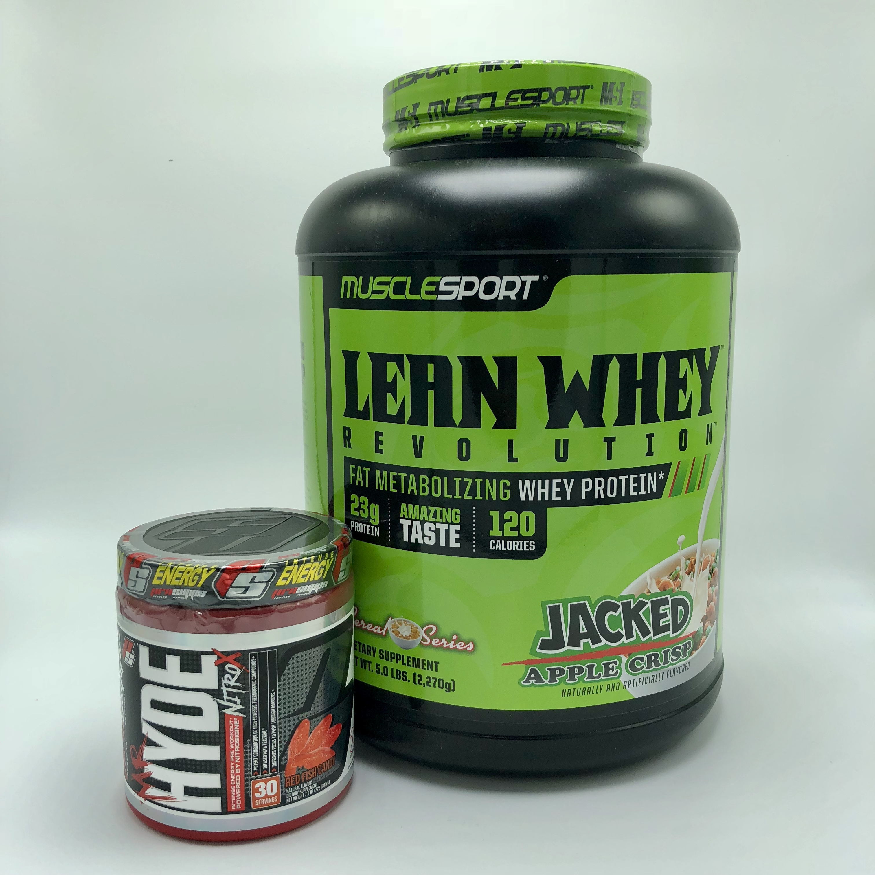 Muscle Sport Lean Whey Pro Supps Mr. Hyde Nitro